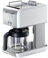 DeLonghi Kmix 10-Cup Drip Coffee Maker, White