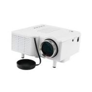"60"" Portable Mini Hd LED Projector Cinema Theater, Support PC Laptop VGA Input and SD + USB + AV Input"