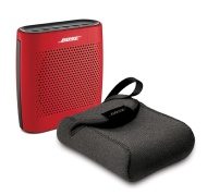 Bose SoundLink Color Bluetooth Wireless Speaker - RED & Bose Carry Case - Bundle