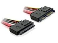 DeLock SATA-Cable 0.5m straight / right (84223)