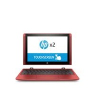 HP X2 10In Intel Atom 2GB 32GB 2-in-1 Convertible PC - Red