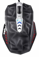 Perixx MX-3000B, Programmable Gaming Laser Mouse - Avago 8200dpi ADNS 9800 Laser Sensor - Omron Micro Switches - 8 Programmable Button -Weight Tuning