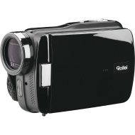 Rollei Movieline SD 55 Camcorder (5 Megapixel Kamera, 7,62 cm (3,0 Zoll) Touchpanel, Full HD, 5-fach optischer Zoom, SD/Micro-SD Kartenslot, USB 2.0)