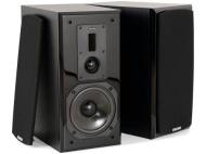 Dynavoice Definition DM-6 Black - Coppia Diffusori Acustici da Libreria / Stand 2 Vie Bass Reflex per Hi-Fi e Home Cinema. Cabinet in legno MDF con fr