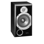 Infinity Primus P163BK Two-way 6 1/2-Inch Bookshelf/Satellite Speaker (Black, Each)
