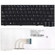 Acer Aspire One Keyboard Black Us Aezg5r00010, Zg5, Pk1306f0200 Aspire One: A110,a110x,a110l,a150,a150x,a150,d250