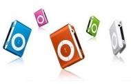 MINI LETTORE MP3 MICRO SD RICARICABILE DA VIAGGIO CORSA JOGGING IPOD STYLE