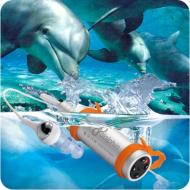 NU Dolphin Swimmer MP3 Player (2G) + NU Dolphin MP3 Armband Accessory