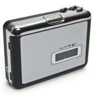 Hype HY-2010-TP Portable USB 2.0 Cassette to MP3 Sound Converter - Rip Your Old Cassettes to MP3!