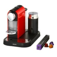 Nespresso CitiZ and Milk by Krups XN730540 Coffee Machine - Fire Engine Red