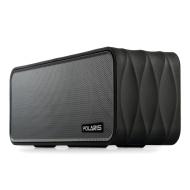 Polaris V8 - portabler und akkubetriebener Funklautsprecher/Bluetooth-Lautsprecher mit FM-Radio, NFC, AUX Eingang, MicroSD Kartenuntersützung, Spracha