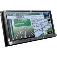 "JVC KW-NT800HDT In-Dash 7"" Touchscreen CD/DVD/MP3 Car Receiver w/ Navigation"