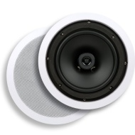 Micca Core Series C-8C 8-Inch In-Ceiling Speaker (Each, White)