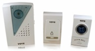LUPO Wireless Doorbell with 2 Remote Control + 32 tunes - 100m Range