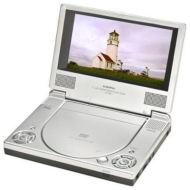Audiovox 7IN DUAL SCREEN PORTABLE DVD PLAYER PACKAGE KIT INCLUDED