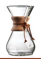 Chemex 8-Cup Classic Series Glass Coffeemaker CM-8A