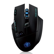PowerLead SUP990 Wireless Optical Gaming Mouse Mice Adjustable DPI Function:1000-1600-2400-4000 for PC/Computer