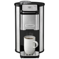 Cuisinart DGB1U One Cup Grind & Brew Coffee Machine, Stainless Steel