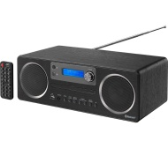 JVC RD-D70 Wireless Traditional Hi-Fi System - Black