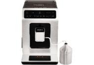 KRUPS EA891D Evidence Kaffeevollautomat Aluminium/Schwarz (Edelstahl-Kegelmahlwerk, 2.1 Liter Wassertank)