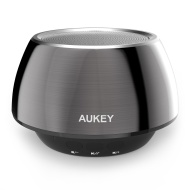 Aukey Bluetooth Speaker Portable Wireless Mobile Mini Speaker, Dual 3W Driver, Enhanced Bass Boost, Built in Mic Speaker System, 8 Hours Playtime, 3.5