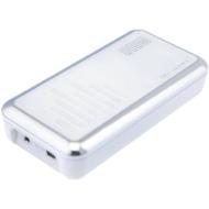 WOWee One Haut parleur compact autonome Blanc/Chrome