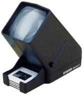 Kaiser Visualizzatore Diapositive Diascop 4 Con 3 X Ingrandimento Doppia Lente Per Le Diapositive Incorniciate 2006 - Gar.Europa