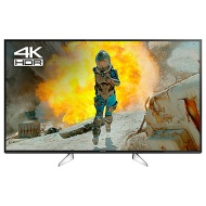 "Panasonic 49EX600B LED HDR 4K Ultra HD Smart TV, 49"" with Freeview Play & Switch Design Adjustable Stand, Black & Silver"