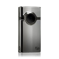 Flip Mino HD Camcorder With 4GB Internal Memory And Widescreen - Chrome