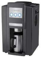 Kalorik CCG-23785 Magic Bean 750-Watt Personal 4-Cup Automatic Drip Coffeemaker with Burr Grinder