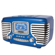 Crosley Corsair CR612 - CD clock radio - black