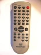 Magnavox NF104UD TV/VCR/DVD Remote Control