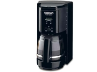 Cuisinart Black Programmable Filter Brew Coffee Maker
