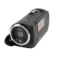 PowerLead CAM01 720P 16MP Digital Video Camcorder Camera DV DVR 3.0inch TFT LCD 8x ZOOM-Red color