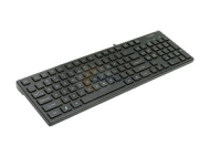 I-Rocks Black 103 Normal Keys USB Wired Slim Keyboard
