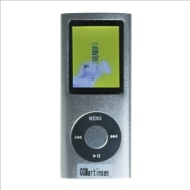 8gb Slim 1.8 LCD Mp3/Mp4 Music Video FM Radio Media Player SILVER