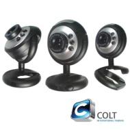 COLT® USB Webcam Camera, 5 MegaPixel, 5G Lens, Built in Microphone & 6 LED