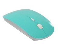 """Cosmos Robin Egg Blue 2.4G RF optical wireless USB mouse for macbook 13"""" PRO AIR 11"""" DELL ACER SONY HP TOSHIBA+ Cosmos Branded cable tie"""