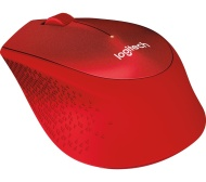 LOGITECH Silent Plus M330 Wireless Optical Mouse - Red