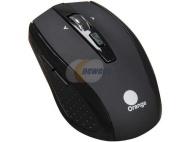 Orange Optical Wireless Mouse