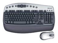 Microsoft Wireless Optical Desktop - Keyboard - wireless - mouse - USB wireless receiver - Norwegian