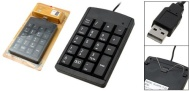 Mini Black USB Numeric Keyboard Keypad for Laptop PC Computer