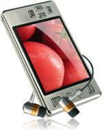 Latte Ice 16 GB Video MP3 Player with Built-In FM Transmitter (Silver)