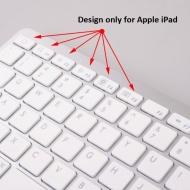 Ultra thin Slim Bluetooth 2.0 Wireless Keyboard Keypad for iPad 16GB 32GB WiFi, iPhone 4 4G 3G 3Gs Sony PS3 Smart Phones PC & Mac Laptop Desktop Netbo