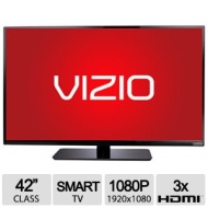 "VIZIO 42"" Class 1080p 120Hz Full-Array LED Smart TV - Black (E420i-B0)"