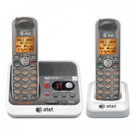 AT&T EL52260 Dect 6.0 Cordless Phones, 2 Handsets, With Answering System