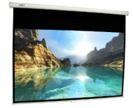 "FAVI Entertainment 120 inch 4:3 Manual Pull Down Projector Screen (96"" x 72"")"