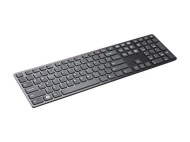 I-Rocks Black Aluminum X-Slim Keyboard for PC (KR-6402-BK)