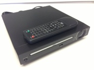 Compact Home DVD Player With USB Port - DivX Media Movie Playback