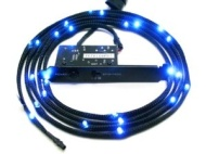 NZXT Sleeved LED Kit 2m blue